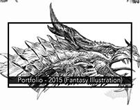 Portfolio: 2015 Illustration (Fantasy Sketching)