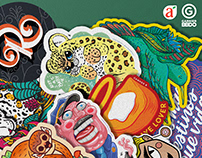 Colección Sticker del Auto