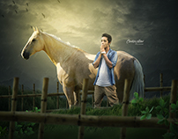 Horse Rider Photoshop Tutorial