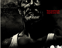 """Don't Breathe"" SONY ENT/Poster Posse Art Collab"