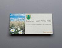 INVITATION - Powiatowe Święto Plonow - 2013