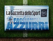 Gazzetta dello Sport - Facciamoli Azzurri