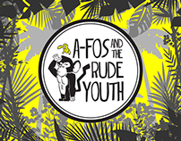 'A-Fos and the Rude Youth' Logo