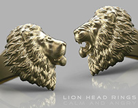 Lion Head Ring (new design)