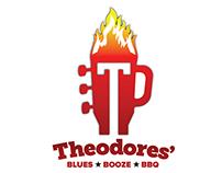 Theodores' Logo redesign