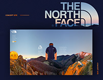 The North Face concept site