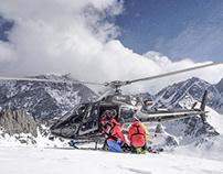 Branding for Kazbegi Helicopters