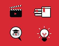 UNB Infographic Iconography