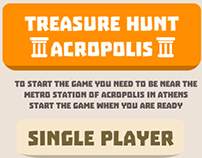 Treasure Hunt Acropolis Mobile Game