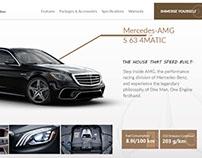 Mercedes Benz AMG S63 Web Concept