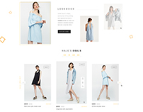 HALIE - Fashion PSD Template
