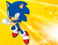 Umbrella Packaging SEGA Sonic