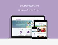 EdutrainRomania website
