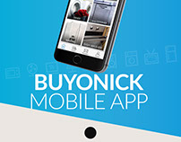 Buyonick - Mobile app design