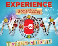 NYSCI Creative Campaign 2015 - WIP