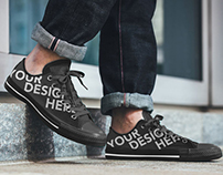 Shoe Sneakers Mockup Design