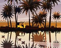 Allepey river ft. Tuktuk
