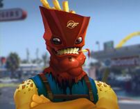 FF Fast Food Man