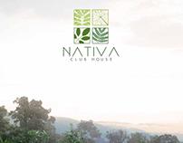 Diseño identidad corporativa Proyecto Nativa Club House