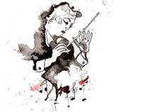 Illustrattion Crime cover