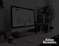 Aidan Bennetts Design //Portfolio