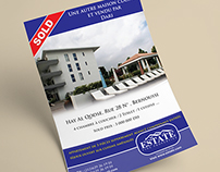 flyer à vendre maison