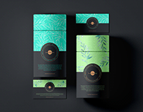 Free Business Cards With Paper Tube Box Mockup