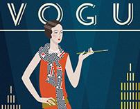 Art Deco Vogue Covers