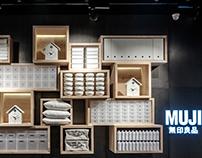 MUJI Store, VR Bengaluru, Bangalore - India.