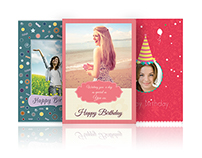 Happy Birthday - Greeting Card Designs