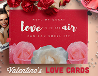 Valentine's Day Love Cards Pack II