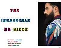THE INCREDIBLE MR. SINGH for ROUGH DIGITAL,UK