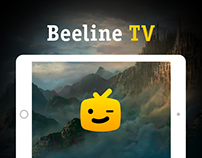 Beeline TV Redesign Concept