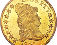 Collection of Gold Coins Through History