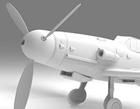 Messerschmitt Bf109 G-6 -interactive walkthrough