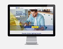 BHA School of Lighting Website