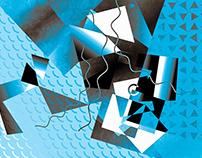 Blue Tessellation