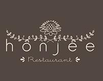 Honjee Restaurant Logo Design