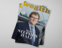 Editorial Design: Wealth Magazine Issue Two