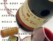 Torres Wine, Sangre de Toro Print and Online Campaign