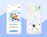 Daily UI Day #20: Location Tracker