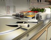 Rolls - Heladeria Artesanal - 3D / Branding