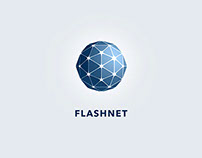 Flashnet - visual brand identity