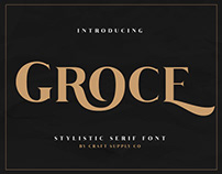 Groce - Stylistic Serif Font (Free Download)