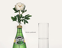 Perrier, preferred.