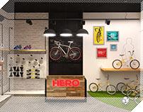 Hero Cycles - Store Identity