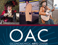 Oconomowoc Arts Center 15/16 Season Brochure