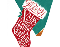Christmas Lettering - series
