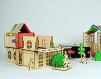 Children's Modular Play Set