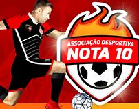 A.D. Nota 10 - Caucaia Futsal | Bravo Design!